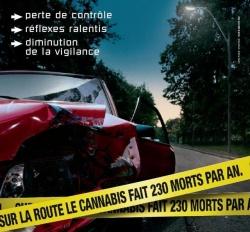 Sécurité routière et conduite sous l'emprise de produits stupéfiants.